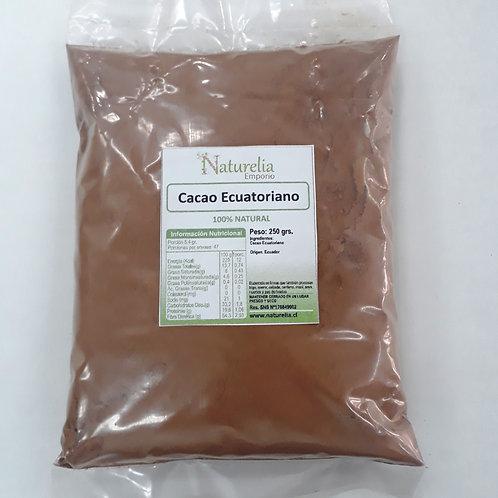 Cacao Ecuatoriano en polvo Naturelia 250 g.