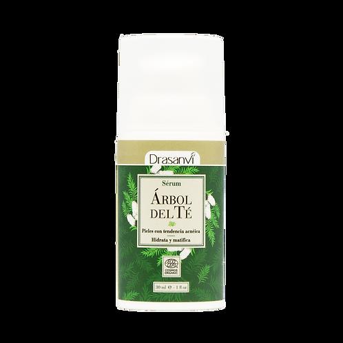 Serum facial de Arbol de Té orgánico Drasanvi 30ml.