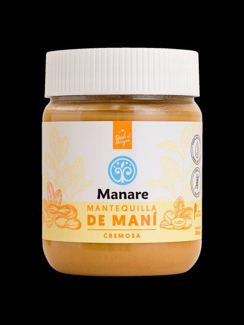 Mantequilla de maní natural Manare 250g