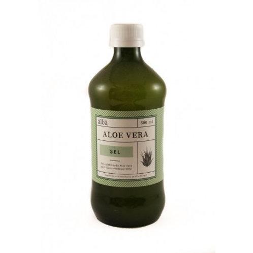 Gel Aloe Vera Puro Del Alba 500ml.