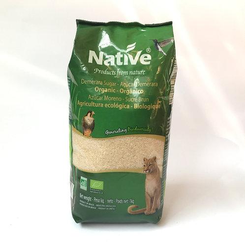 Azúcar de caña orgánica Native 1k.