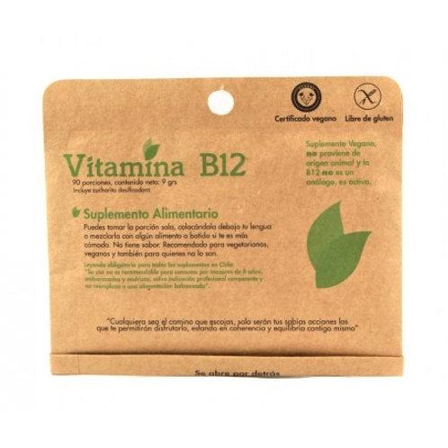 Vitamina B12 en polvo Dulzura Natural