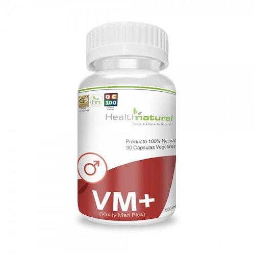 VM (Virility Man Plus) 500mg. Health Natural 30 cáps. vegetales