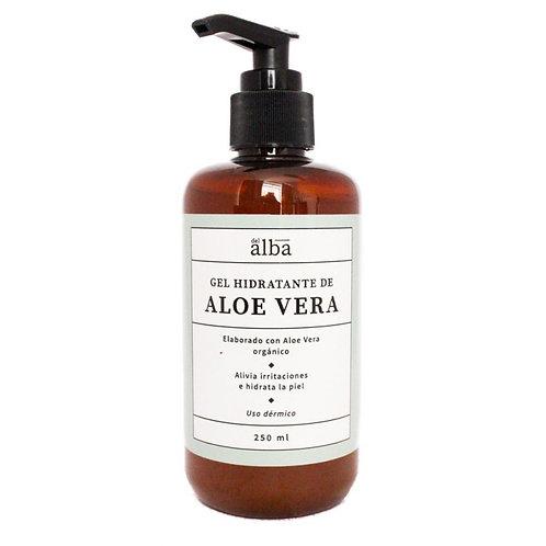 Gel Dérmico Hidratante de Aloe Vera Del Alba