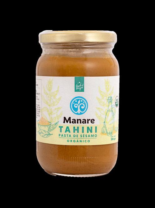 Tahini orgánico Manare 330g.