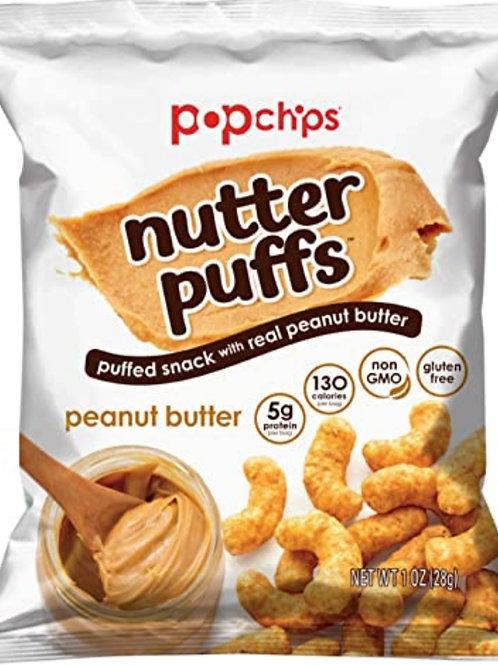 Pop chips de Mantequilla de maní 28g
