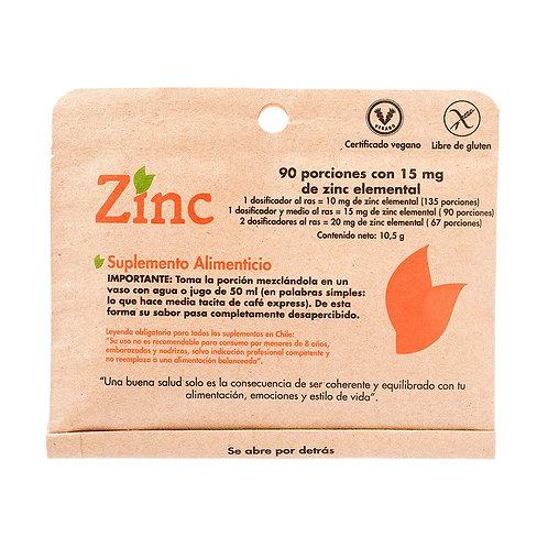 Zinc en polvo Dulzura Natural