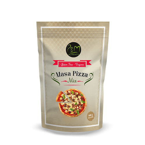 Premezcla para Pizza sin gluten 500gr.