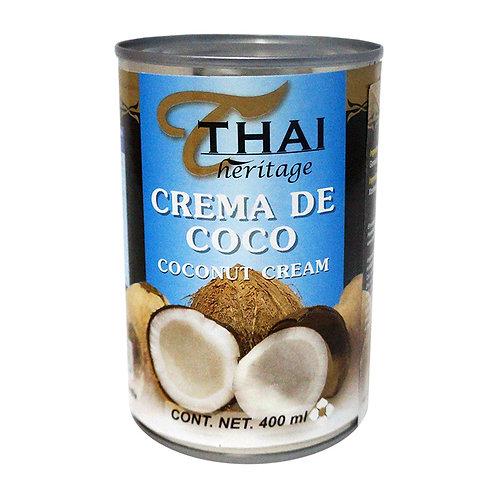 Crema de Coco Thai 400ml.