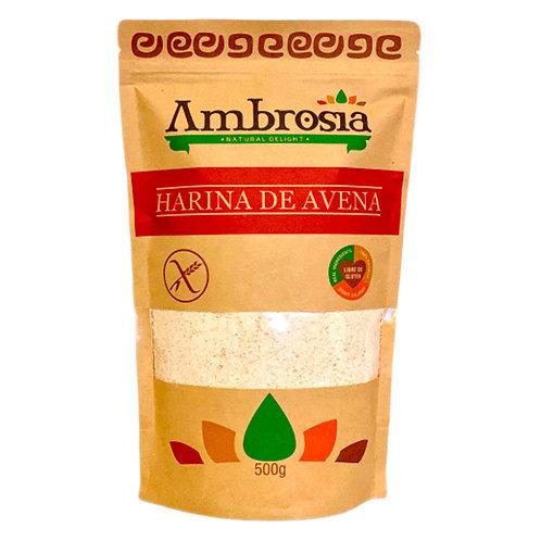 Harina de Avena sin gluten Ambrosía 500gr.
