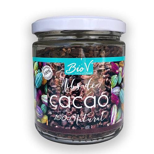 Nibs o Trozos de cacao 100% natural BioV 200gr.