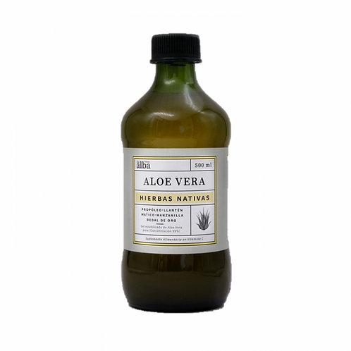 Gel Aloe Vera Hierbas Nativas Del Alba 500ml.