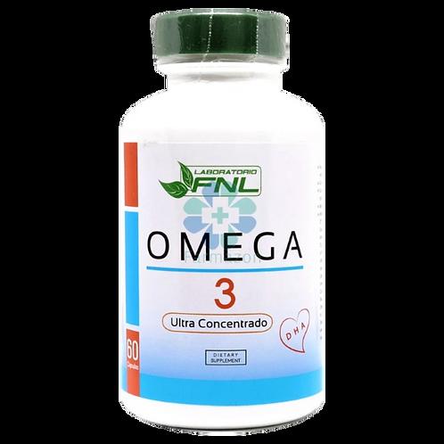 Omega 3 FNL 60 cápsulas blandas