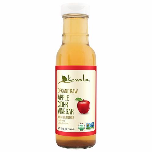 Vinagre de manzana orgánico Kevala 354 ml.