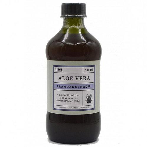 Gel Aloe Vera Arándano Maqui Del Alba 500ml.