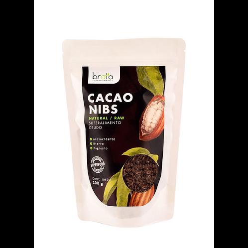 Trozos de cacao Brota 300g.