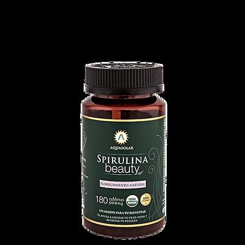 Spirulina orgánica Aquasolar 180 tabletas