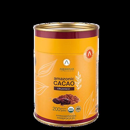 Cacao orgánico en polvo Aquasolar 200g.