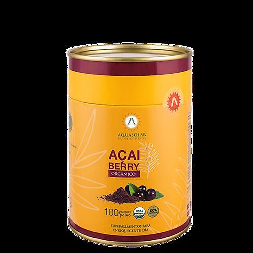Açaí Berry orgánico en polvo Aquasolar 100g
