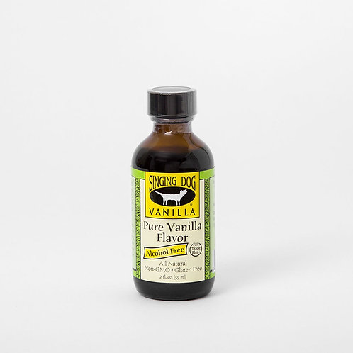 Esencia de vainilla orgánica, sin alcohol, sin gluten 59ml.