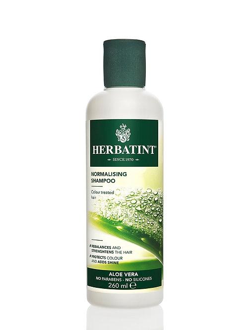 Shampoo Normalizante con Aloe Vera Herbatint 260ml.