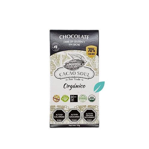 Chocolate orgánico 70% Cacao Soul