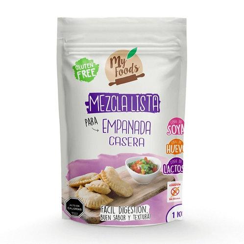 Mezcla lista sin gluten para empanadas My Foods 1k.