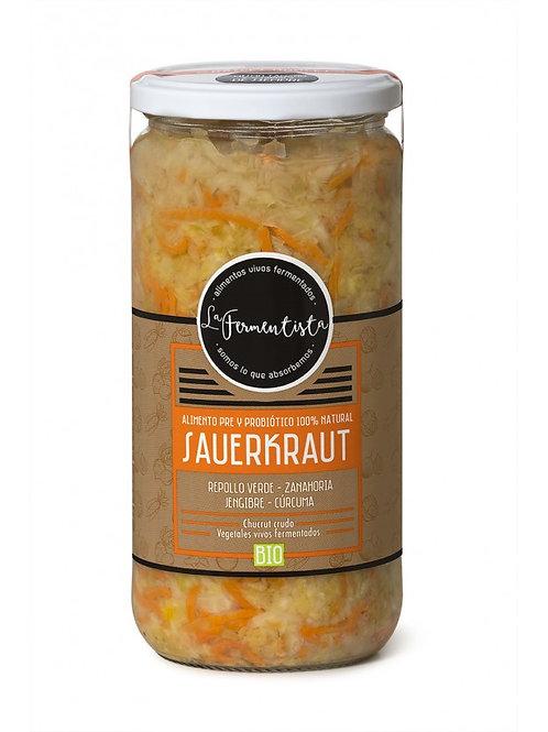 Sauerkraut Raíces Nobles La Fermentista 640 g.