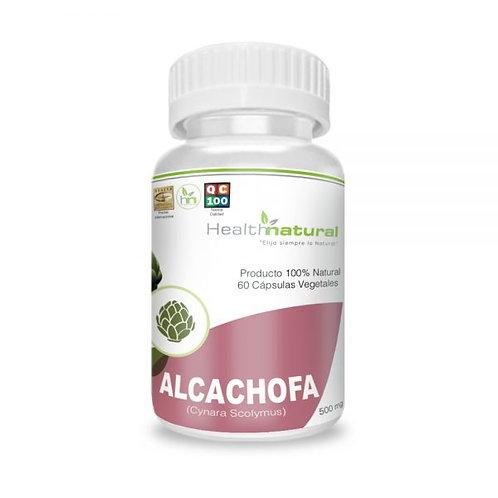 Alcachofa 400mg. Health Natural 60 cápsulas vegetales