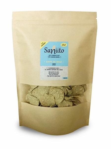 Chips de Maíz Finas Hierbas sin gluten Saniito