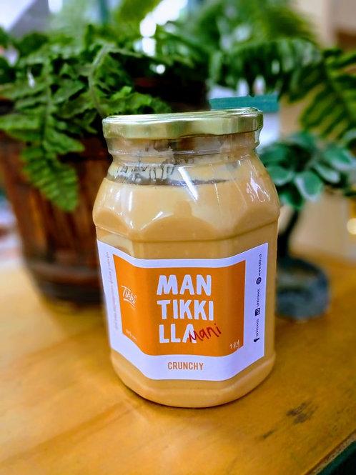 Mantequilla de Maní Crunchy Tikki 1k.