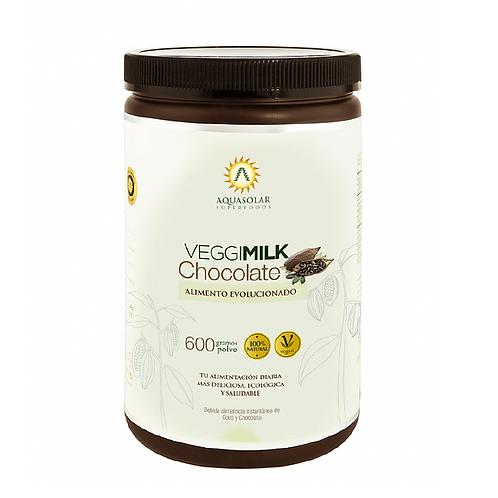 Leche vegetal chocolate Aquasolar 600gr.