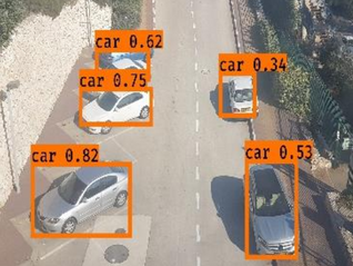 FlyEye – Assisted Driving Using a Drone and Deep Learning