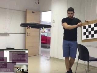 Autonomous Drone Navigation In Space