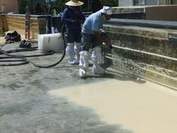 Residential Polyurea Waterproofing