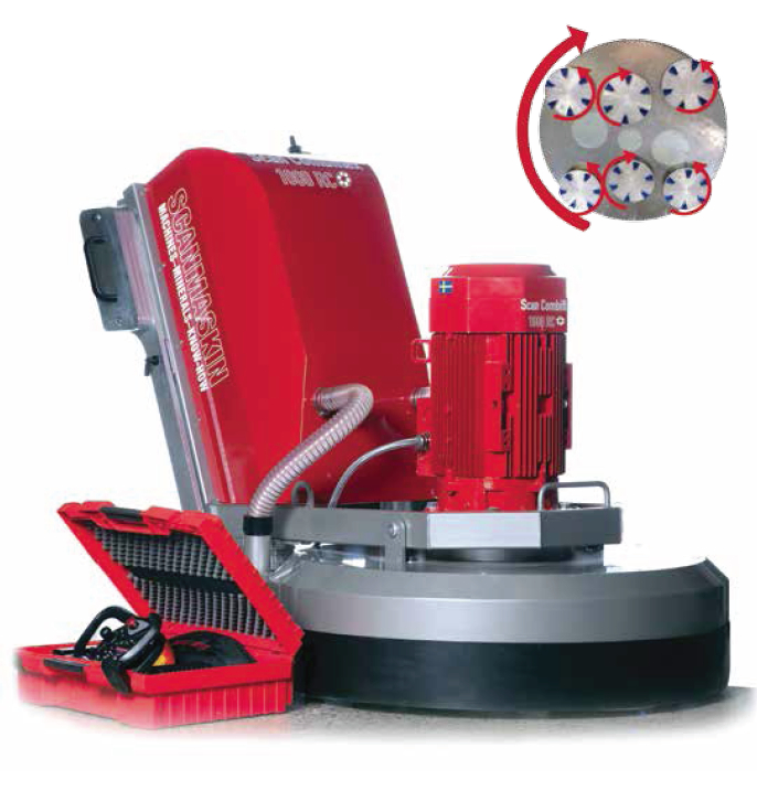 Scanmaskin 1000RC Diamond Grinder