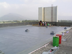 Polyurea waterproofing membrane