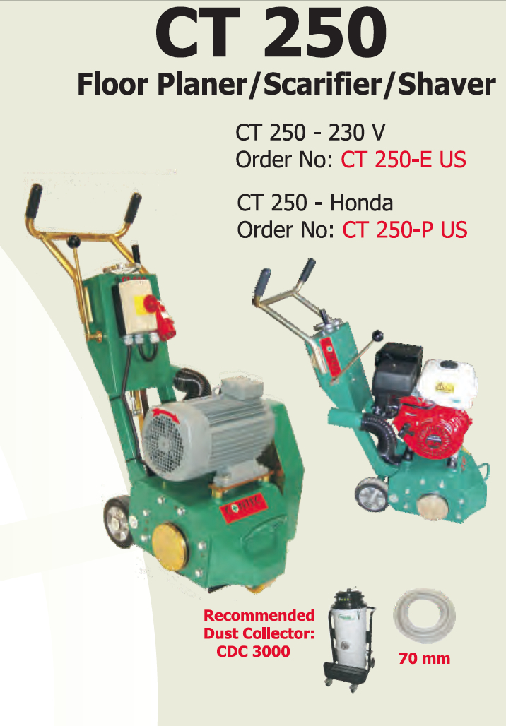 CONTEC CT250 planer / scarifier
