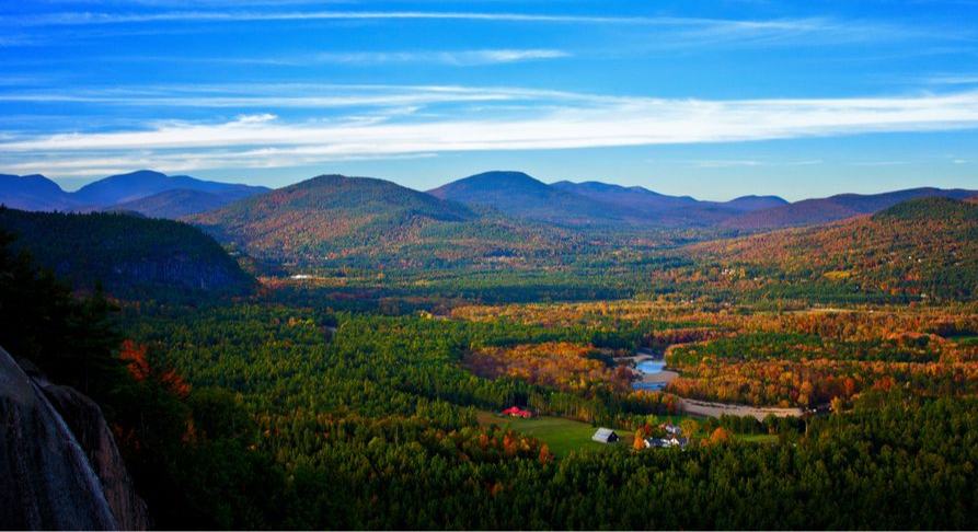 North Conway, NH - Saco River, Mount Washington Valley, White Mountains