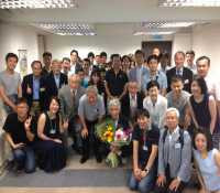 荻野会長 香港在住50周年記念講演会