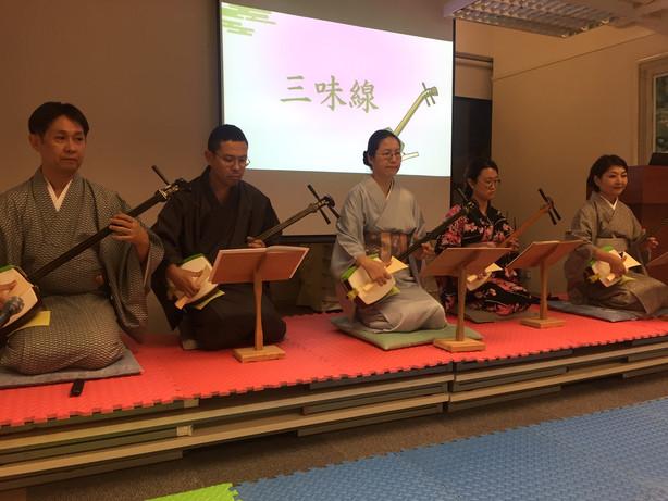【10月18日(金)開催】和に親しむひとときを ~香港に響く三味線の調べ~活動報告