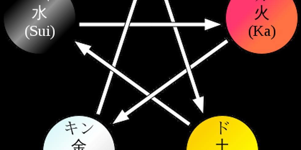 【9/26(水)開催】★陰陽五行deカクテルナイト★「ビジネス人間関係構築編」