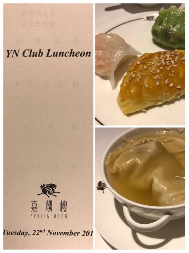 y.n.clubランチ会 「ザ・ペニンシュラ香港嘉麟楼でランチ&シークレットプレイスの見学会」