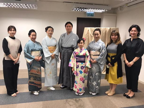 【11月22日(日)オンライン開催】日本秋祭in香港認定イベント「和に親しむひとときを第2部:日本舞踊」開催報告