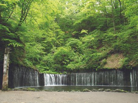 [東京]  拍攝瀑布Tips!輕井沢的白糸の滝