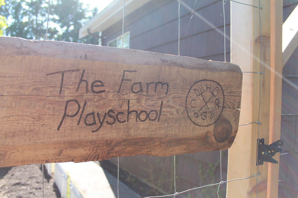 The Farm Playschool Opens After Labour Day!