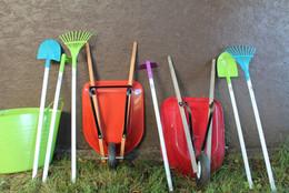 Garden tools for little gardeners.