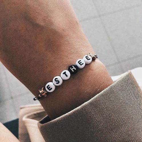 Tekst armband
