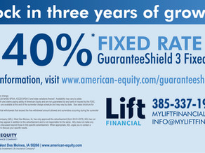 Lock in three years of growth with American Equity