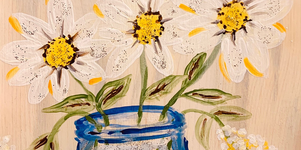 Wood Painting Class 6:00 pm